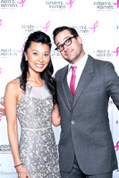 Pink Tie Ball - Step & Repeat