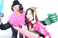 Pink Tie Ball - Photobooth